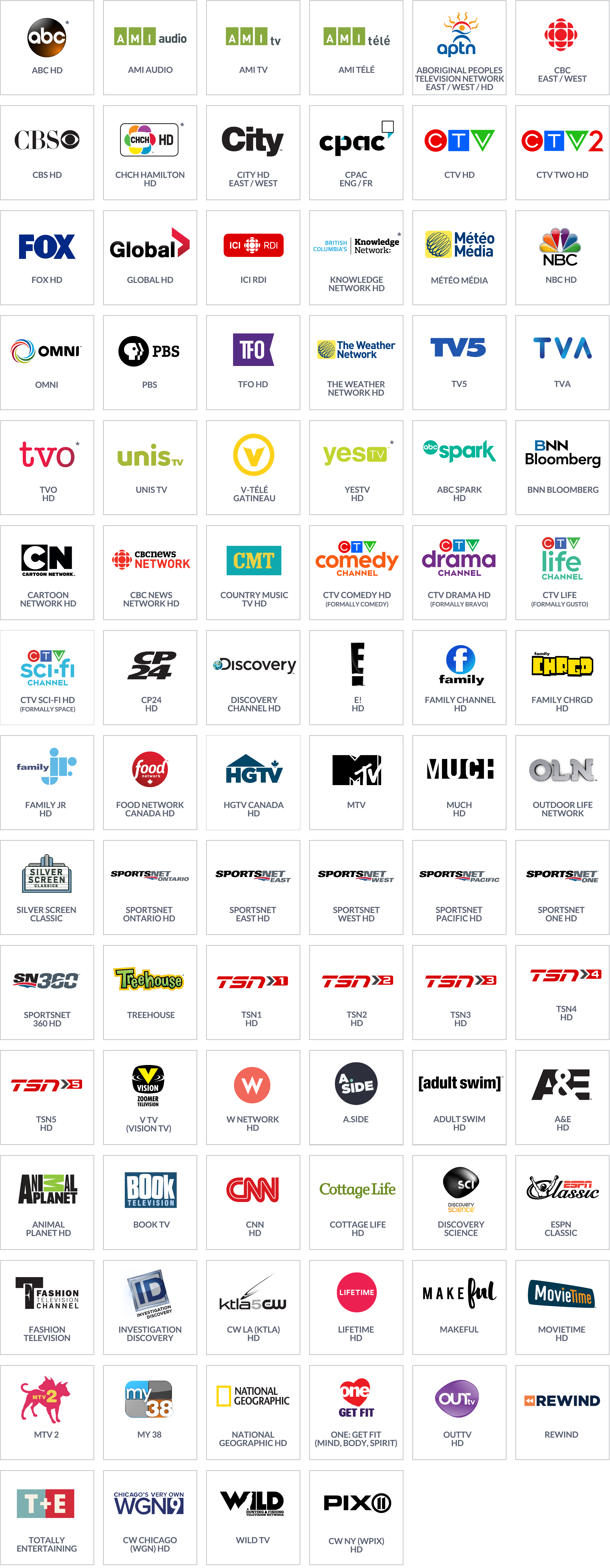 Platinum Channels