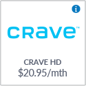 Crave + Movies + HBO