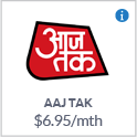 AAJ TAK TV Channel Canada