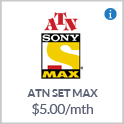 ATN Set Max TV Channel Canada