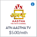 ATN AASTHA TV Channel Canada