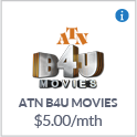 ATN B4U Movies TV Channel Canada