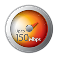 High Speed Internet 150 Mbps