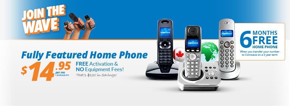 Comwave | VoIP Home Phone, Internet & Low Long Distance Rates